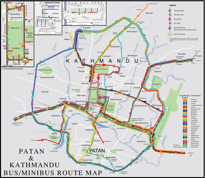 kathmandu-busmap